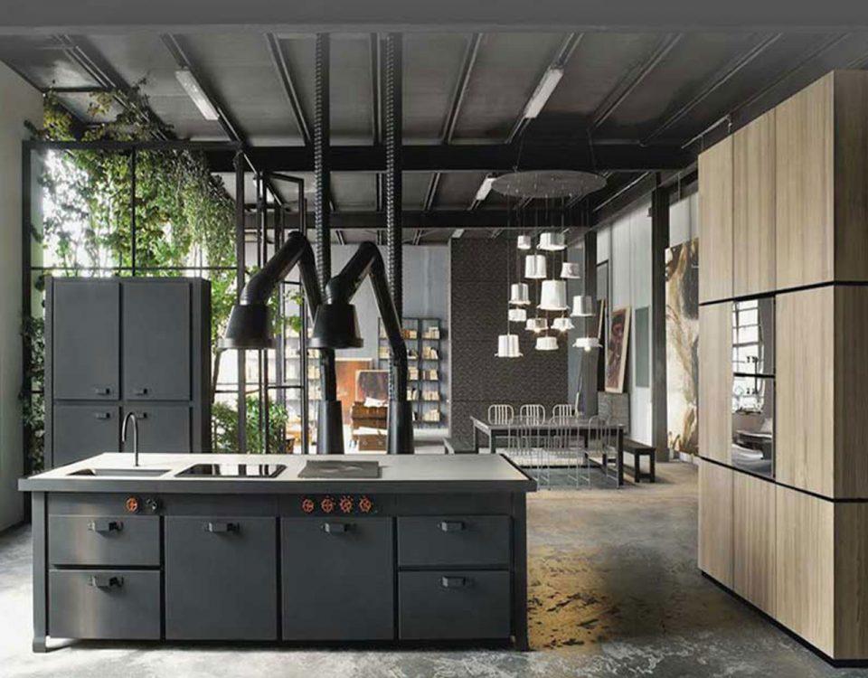 Beton, Metall und mehr Licht in den Küchen!