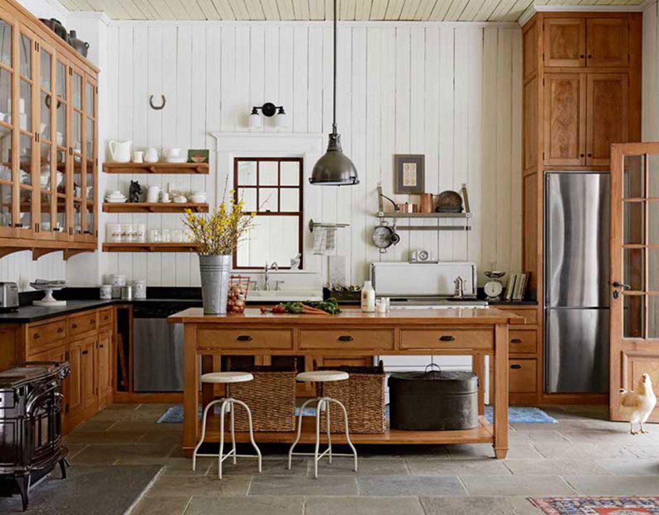 Landhausküche: Eine intelligente Harmonie von Tradition und Moderne