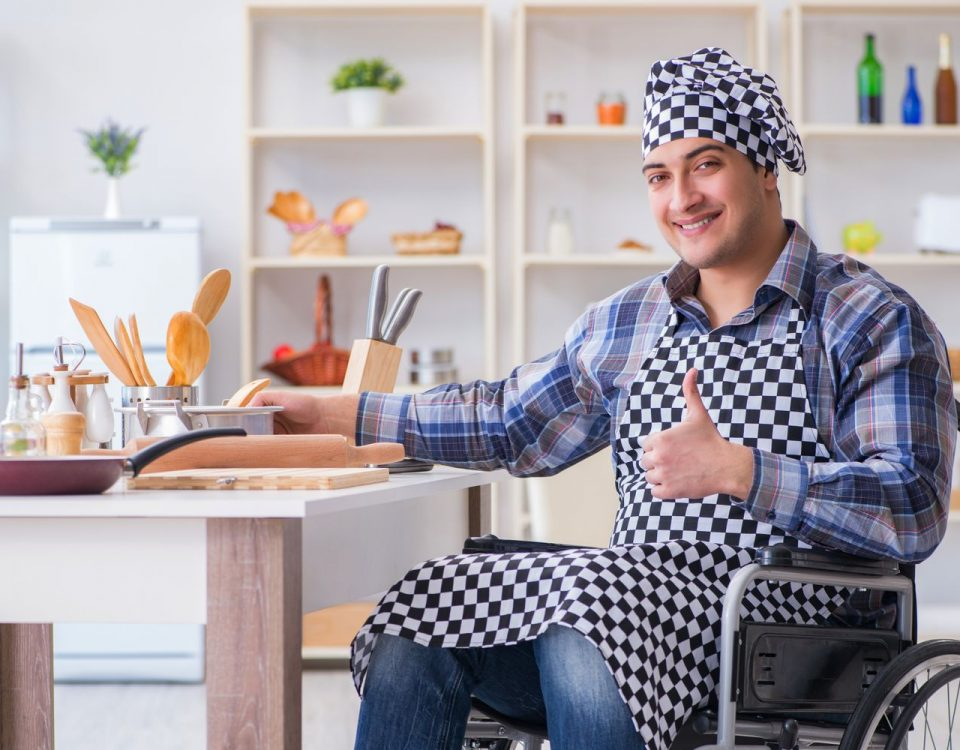 barrierefreie küche