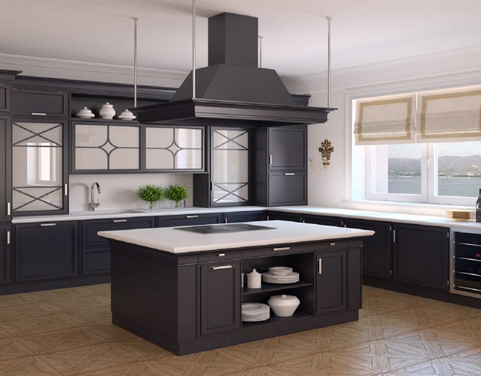 moderne landhausküche
