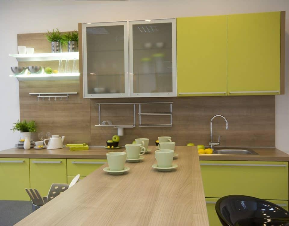 küche mit halbinsel